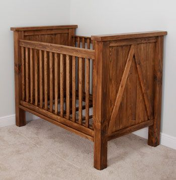 View our DIY Crib blog post