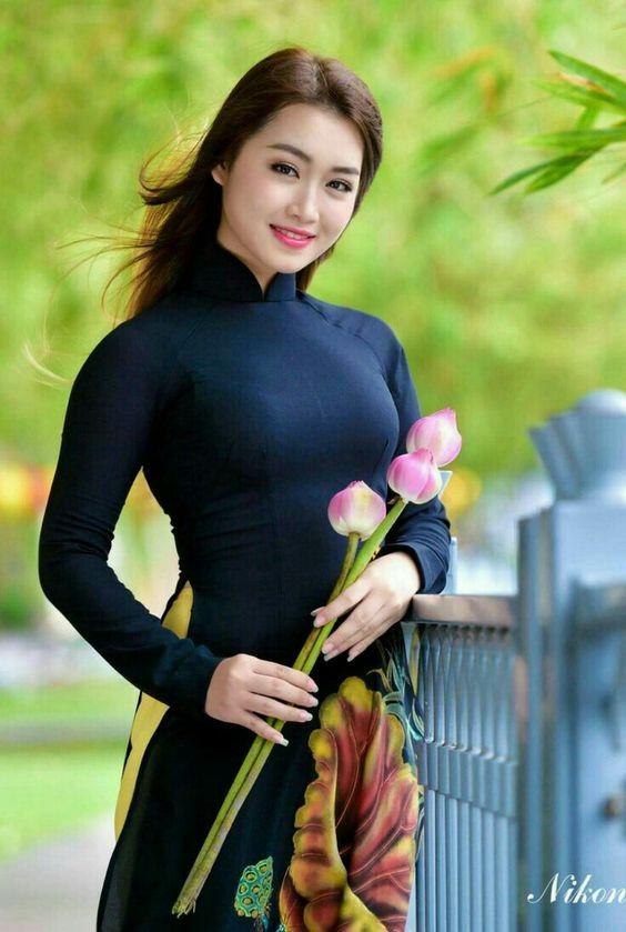 Vẻ đẹp của một phụ nữ Việt Nam.
