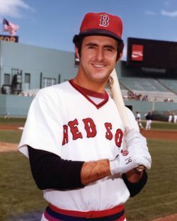 This Day In Baseball History: June 18,1975 - Fred Lynn (Boston Red Sox) hit three home runs, a triple and a single in a game against the Detroit Tigers. He collected 10 RBIs.  keepinitrealsports.tumblr.com  keepinitrealsports.wordpress.com  Mobile- m.keepinitrealsports.com