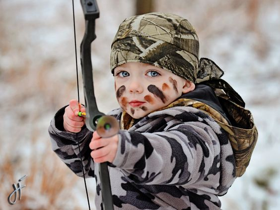 This is where our future lies! Don't let your kids grow up to be post masters, clerks, or truck drivers! Take 'em huntin and may our heritage live on!