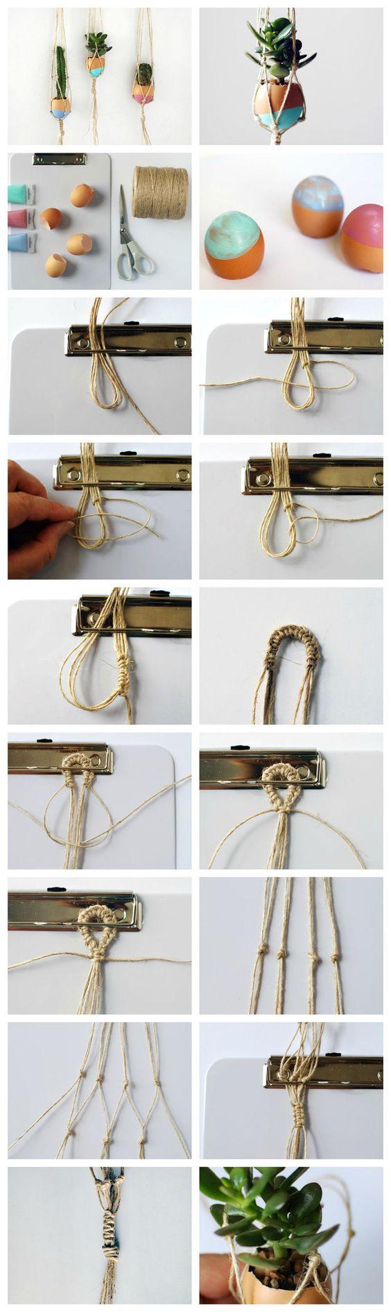20 DIY Macrame Plant Hanger Patterns | Craft ideas ...
