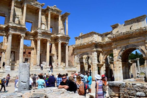 Too incredible!  Read about our experience! #travel #ephesus #turkey #ancient #history #archaeology #ruins