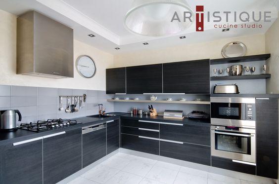 Artistique se especializa en el diseño de cocinas integrales, utilizando materiales nuevos e innovadores...!