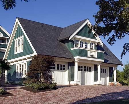 Plan 69080am garage cottage 3 car garage craftsman and for How much to build a garage apartment