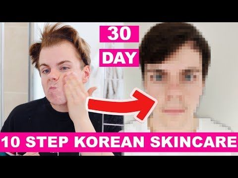 We Tried The 10 Step Korean Skin Care Routine Niki And Sammy Ft Rich Moist Soothing Cream Men Skin Care Routine Korean 10 Step Skin Care Korean Skincare