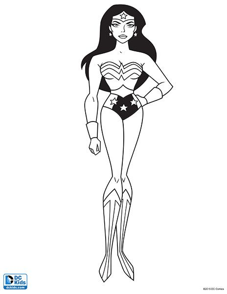 10 Best Justice League Coloring Pages For Your Toddler | Justice ...