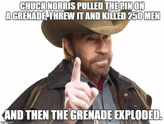 Chuck Norris; the epitome of awesomeness - funny memes