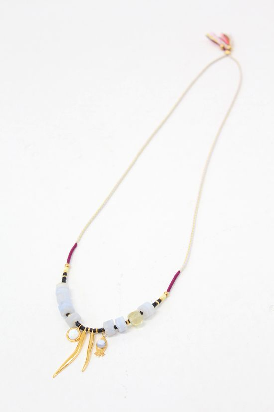 Lizzie Fortunato Amulet Necklace $240. At Beklina
