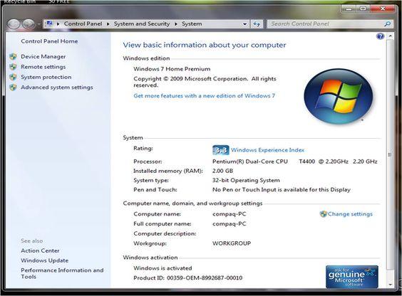 Ini Dia Cara Melihat Spesifikasi Komputer Yang Paling Mudah Andyyizerz Com Microsoft Windows Komputer