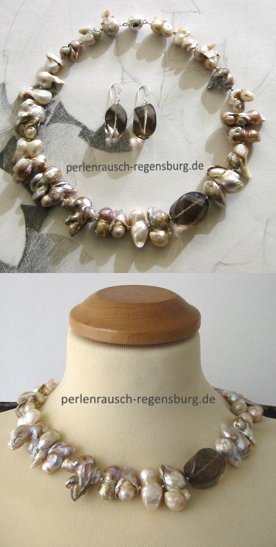 Pin Auf Perlenrausch Regensburg Schmuck Aus Echten Perlen Edelsteinen Und 925er Silber