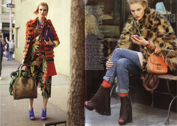 Vogue UK August 2011 - Style Hunter @ Street Stylista