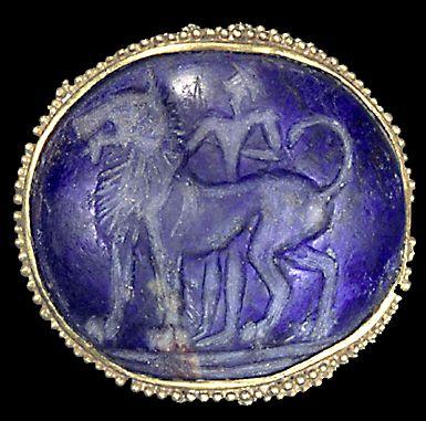 A granulated gold gem from Knossos / Crete, 1600-1390 B.C. #MinoanJewel #VonGiesbrechtJewels