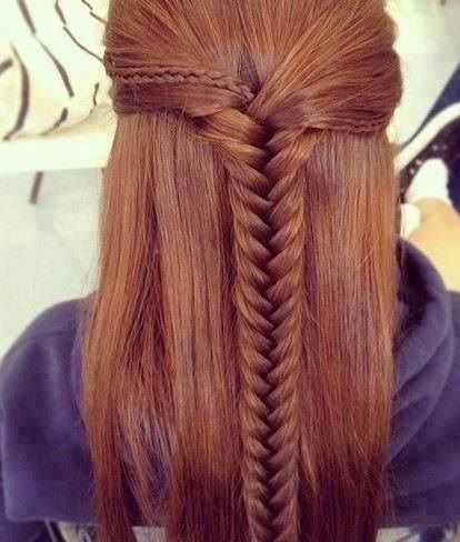 Fine Hairstyle For Long Hair Wedding Hairstyles And Updo On Pinterest Hairstyles For Women Draintrainus
