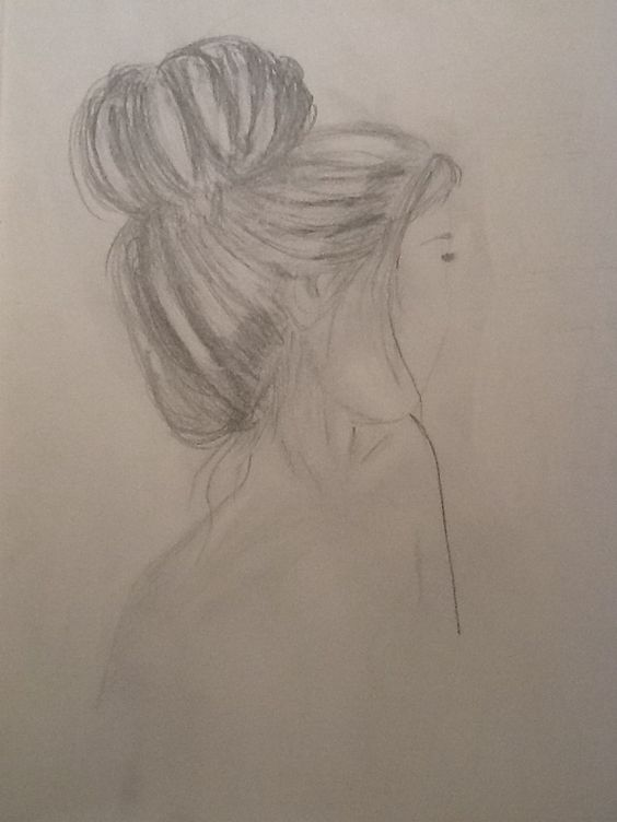My attempts at sketching.