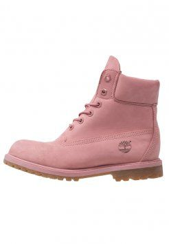 Timberland - Bottines à lacets - dusty rose