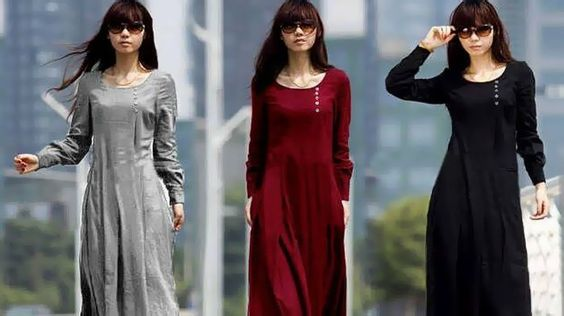 Maxi dress katun terbaru agya