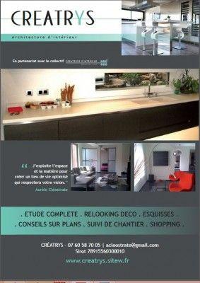 Flyer aurele cleostrate architecte interieur r alisation - Conseil architecte interieur gratuit ...