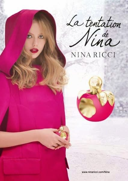 Nina Ricci : 'La Tentation de Nina' Fragrance - Inspired by the famous Ladurée macarons and created by perfumer Olivier Cresp and Vincent Lemains, the master chef of the famous Parisian patisserie Ladurée.