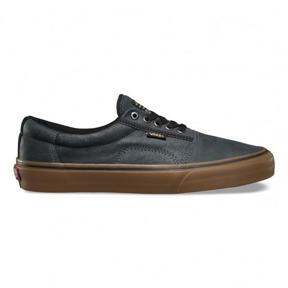 Vans Rowley [Solos] Shoes (XTuff) Black/Gum - Vans Europe Official Site