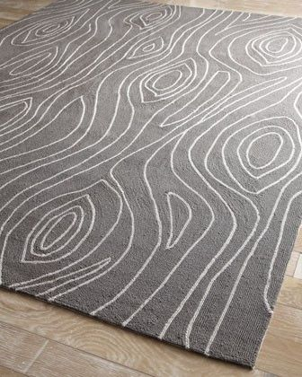 a little too much grey for outside, but I love the faux bois print.