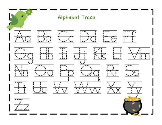 Kindergarten Alphabet Worksheets Printable | Activity Shelter ...
