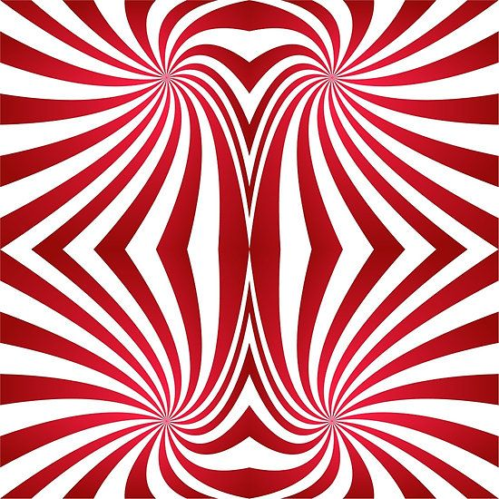 Candy Cane Abstract