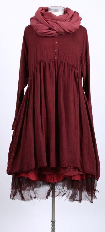 cocon commerz privatsachen - Kleid Seide Wolle Mix ideal - Sommer 2015 - stilecht - mode für frauen mit format...::