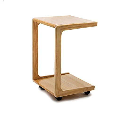 Bjab Sofa Side Wooden Side Table Corner Table Bedside Table Small Tea Table Computer Table Removable Household Co Wooden Side Table Corner Table Bedside Table