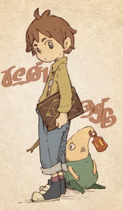 Ni No Kuni - a Studio Ghibli GAME people. THEY MADE A GAME. Oh my heck!