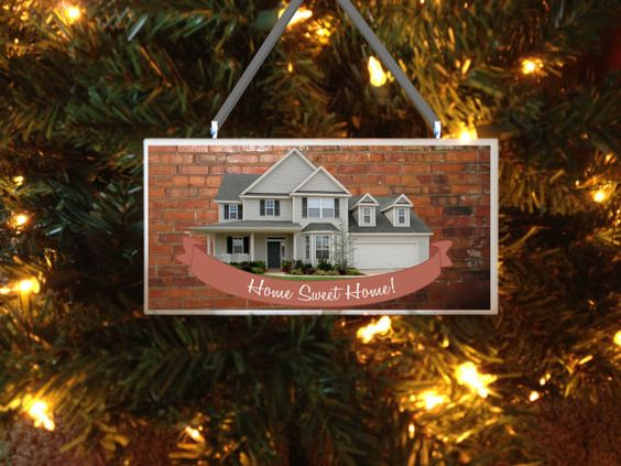 "This is a wonderful gift for the new home owners. Can be used as an ornament or wall plaque. 3x6"" sturdy subway tile."