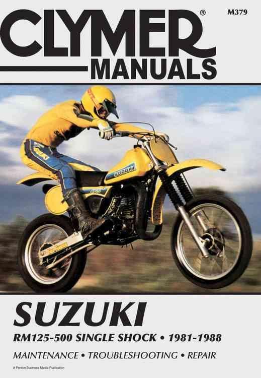 Suzuki Rm125 500 1981 1988 Service Repair Maintenance M379 Paperback Overstock Com Shopping The Best Deals On Automo Clymer Suzuki Repair And Maintenance
