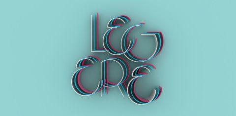 """""""LEGERE – Fontdesign"""" von B2302 / Simon Becker– dasauge® Werkschau"""