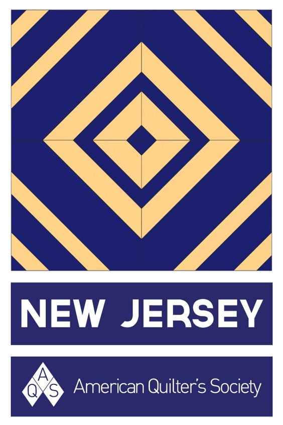State Block New Jersey Jersey Quilt Barn Quilt Patterns