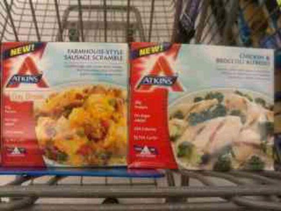 Frozen Atkins Meals Low Carb Diet Pinterest Meals border=