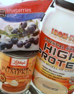 protein powder bread, shakes