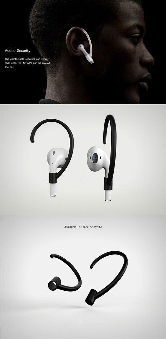 The 'Airpod Securers' is by far the most simple and ingenious solution to your Airpod woes... READ MORE at Yanko Design !