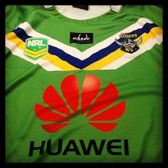 Weargreen2013 Canberra Raiders 2013 Home Jersey Wear Green Raiders How To Wear