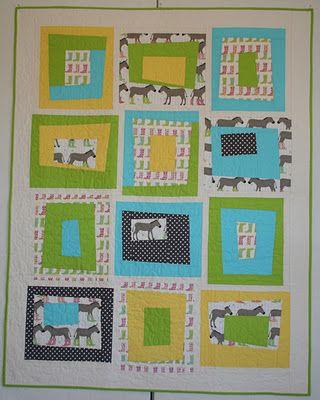 wonky donkey quilt