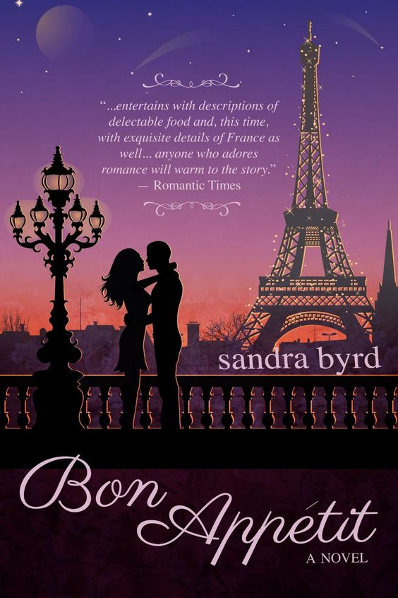 Bon Appetit: A Novel  by Sandra Byrd ($3.62) http://www.amazon.com/exec/obidos/ASIN/B006GHJ890/hpb2-20/ASIN/B006GHJ890 I love this series and highly recommend it for an enjoyable, decent, and pleasant read. - I loved her descriptions and her main character was very enjoyable. - It was a pleasure to read and held my I interest until the very end.