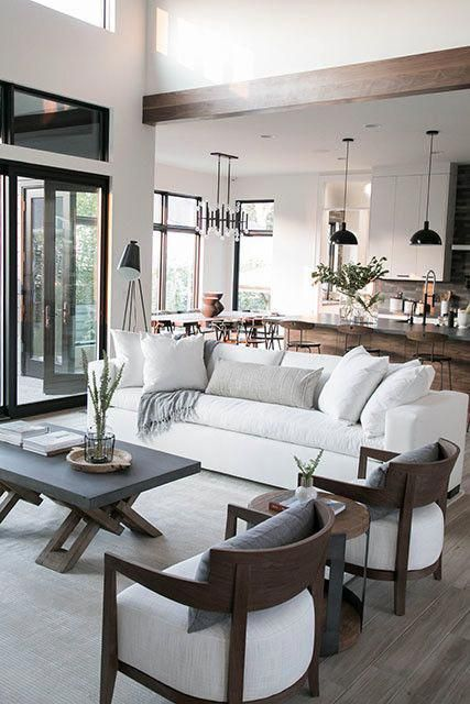 You Can Hang A Big Mirror In A Main Place Of Your Area Or Place It Across A Window To R Neutral Living Room Design Rustic Living Room Design Rustic Living