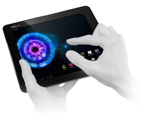 """Tablet con Pantalla de 8"""" Multi-Tactil Capacitiva y Procesador de última generación Dual ARM Cortex A9, de Energy Sistem"""