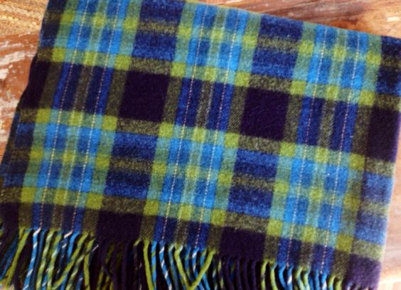 Cabin Cozy... Vintage Pendleton Wool Plaid Stadium by InWithTheOld, $78.00