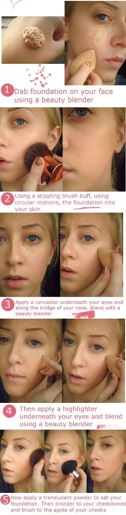 Hello, gorgeous! Did you know that you can get the same flawless finish of airbrushing with traditional foundation? It's true! Just follow these 5 steps to get your skin glowing in no time! #bridal #beauty #foundation