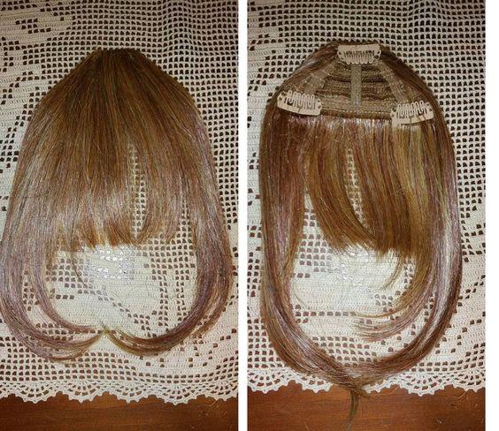 Hairdo extension Frangia col R29s Biondo ramato modellabile nuova senza scatola