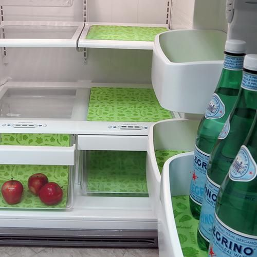 Kitchen Shelf Liner Tips: Fridge Liner; Refrigerator; Refrigerator Liner; Dii