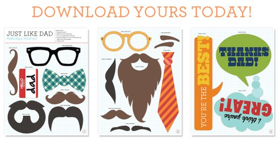 Fathers day printables!