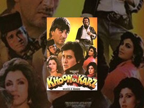 Khoon Ka Karz 1991 Full Hindi Action Movie Vinod Khanna Rajinikanth Sanjay Dutt Youtube Action Movies Vinod Khanna Movies