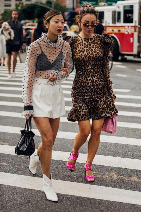 Street Style: New York Fashion Week Primavera Estate 2019 #streetclothing #popularstreetfashion