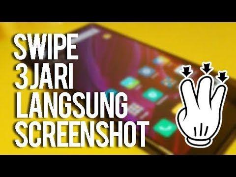 Wajib Ngerti Cara Cepat Ambil Screenshot 3 Jari Di Android Xiaomi