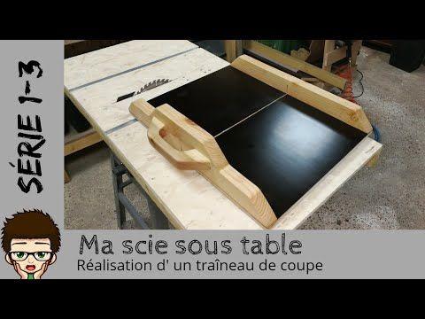 Fabrication De Mon Traineau Chariot De Coupe Serie1part3 Lire Description Youtube Table De Bricolage Tuto Bricolage Travaux De Peinture